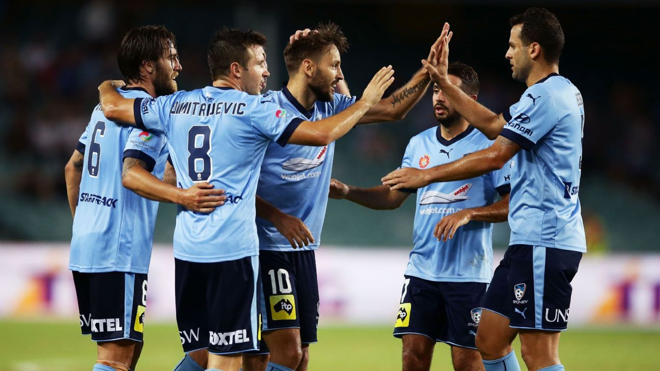 Sydney FC are 12 points clear at the top of the A-League.