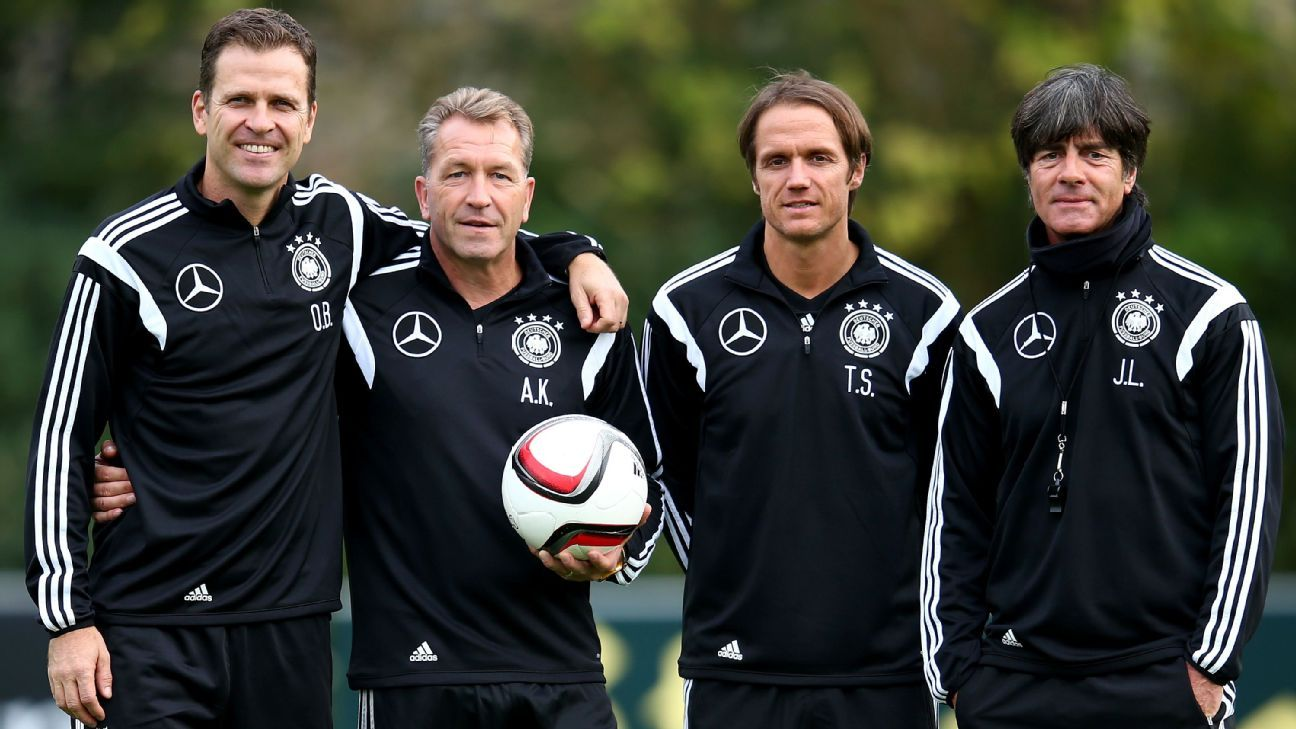 Germany coaching staff