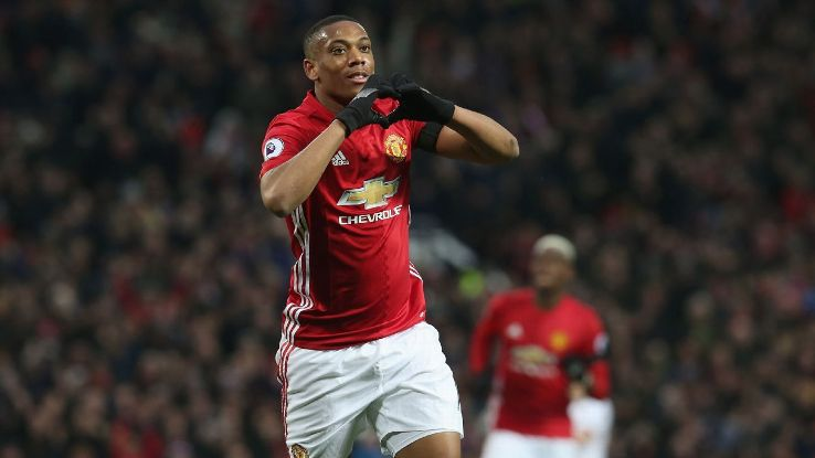 Anthony Martial was the star as Man United cruised past Watford.