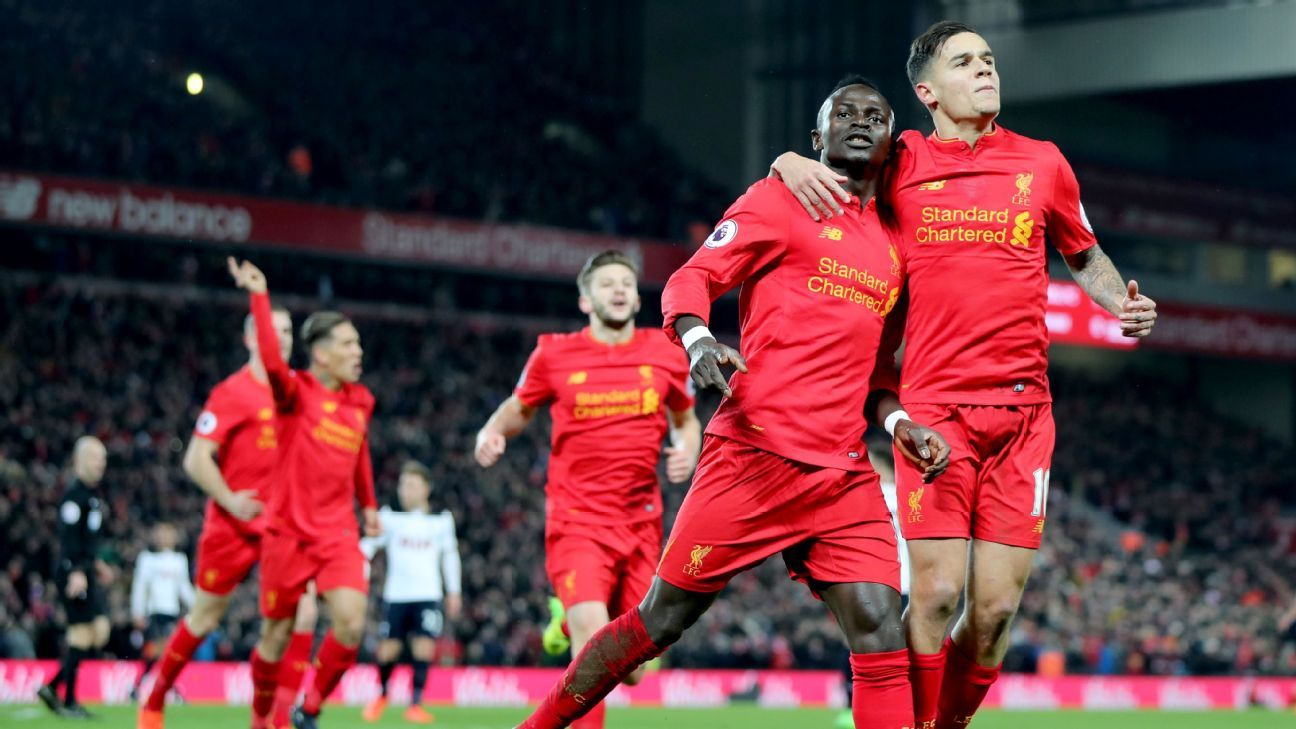 Sadio Mane led the attack as Liverpool secured three points.