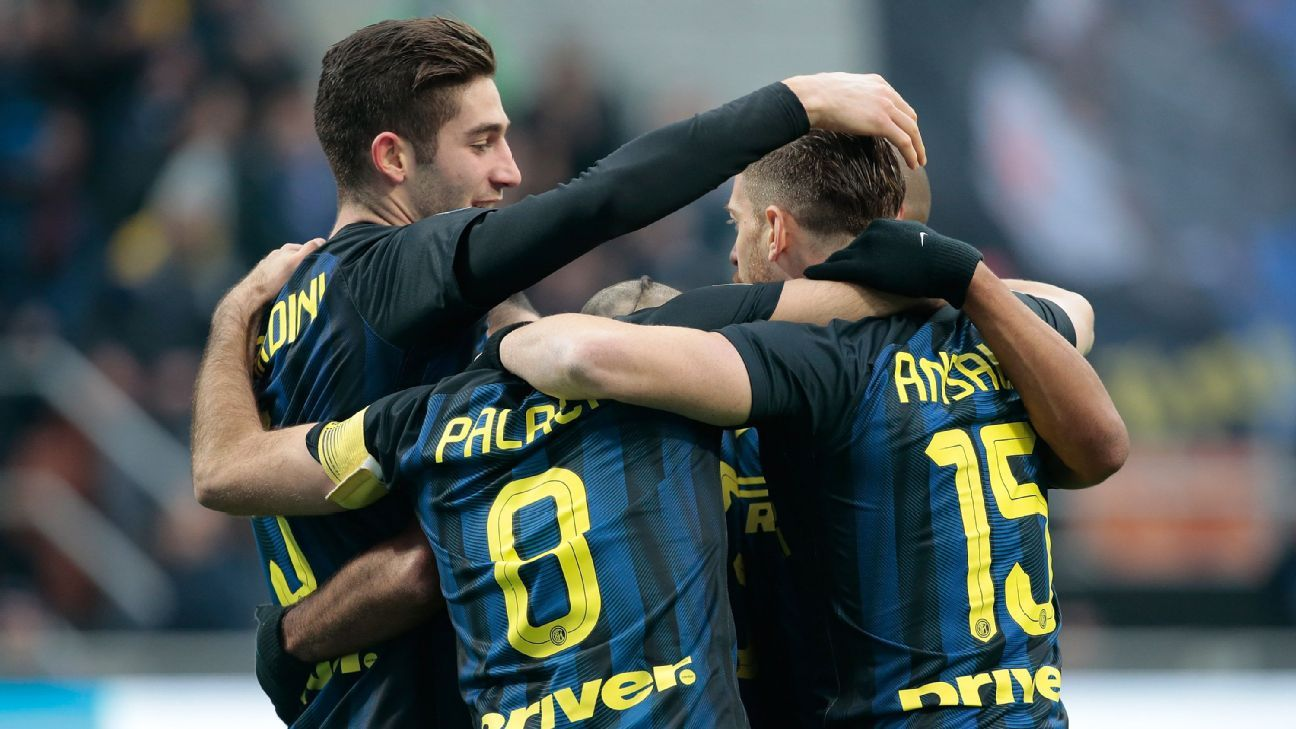 Inter Milan have leapfrogged Lazio in the Serie A table.