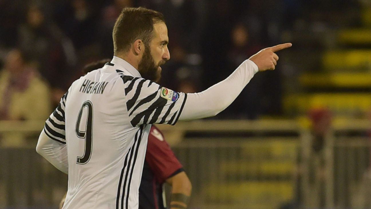 Gonzalo Higuain can expect hell on Napoli return with Juventus
