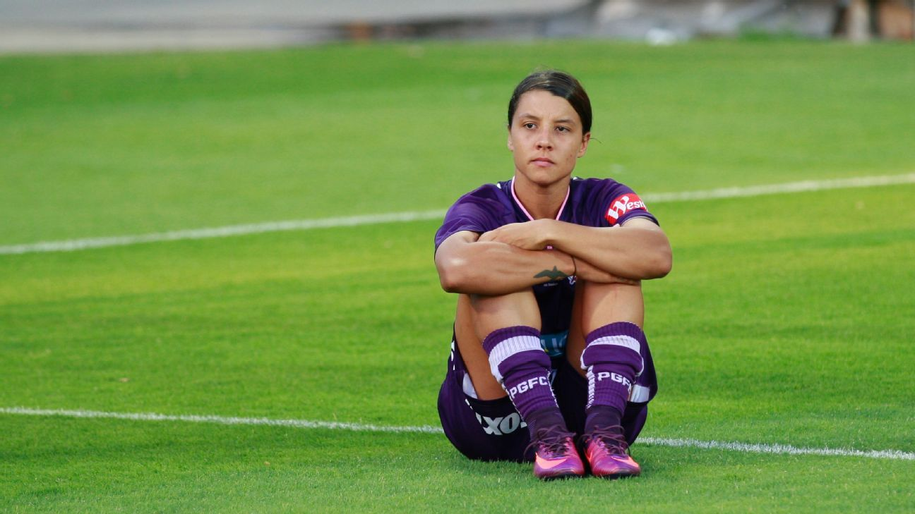 Perth Glory's Sam Kerr