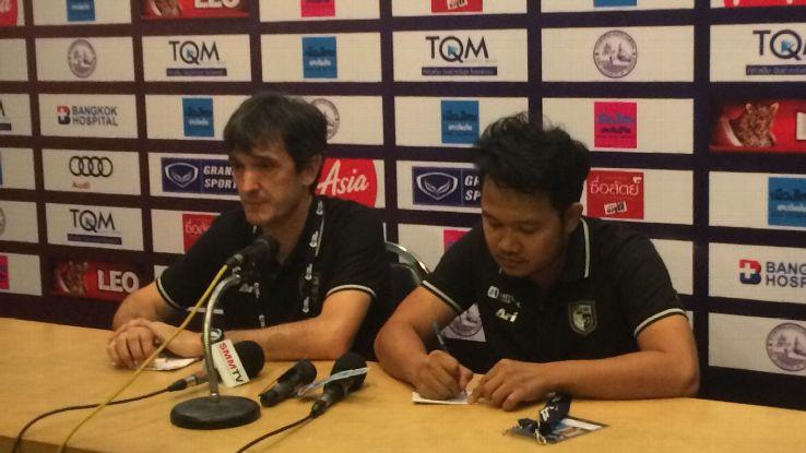 Ratchaburi coach Pacheta