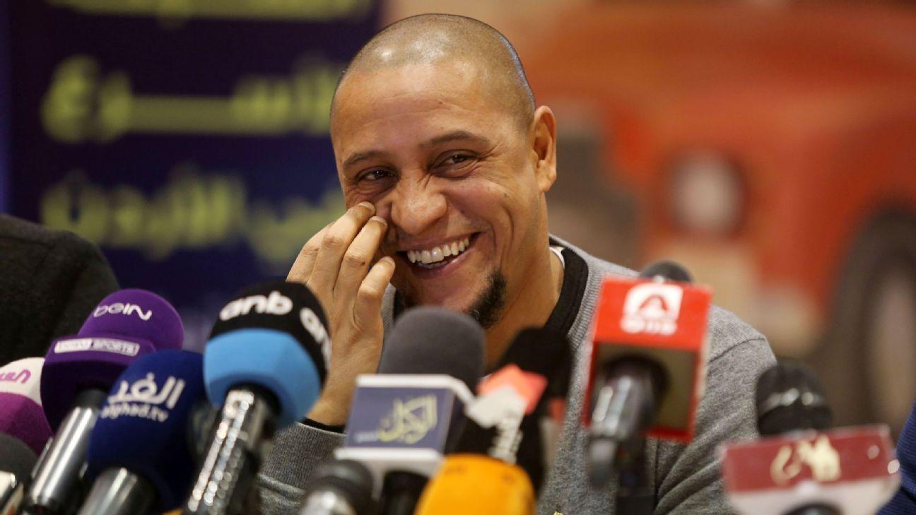 Roberto Carlos media conference