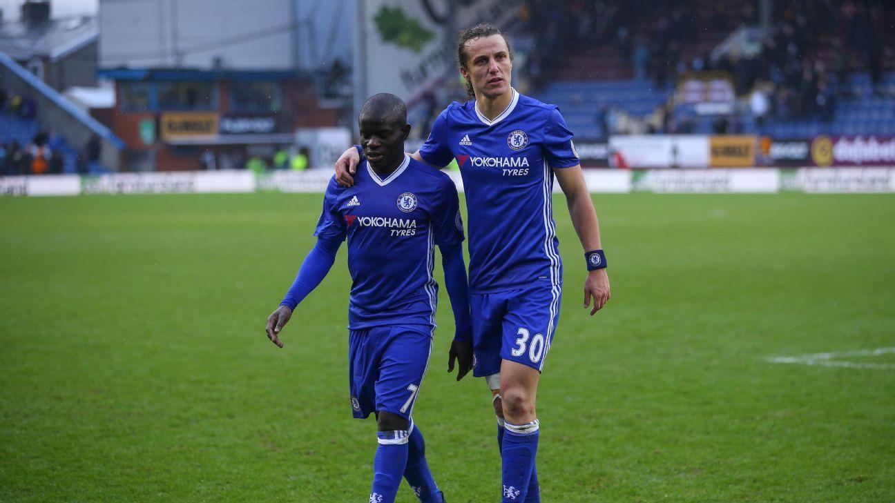 N'Golo Kante & David Luiz
