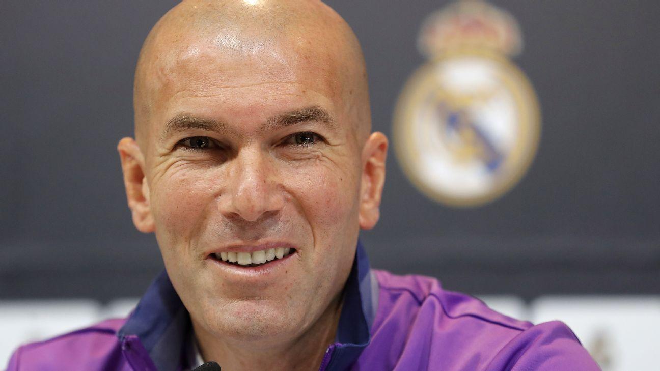 Real Madrid have earned chance to win La Liga Zinedine Zidane