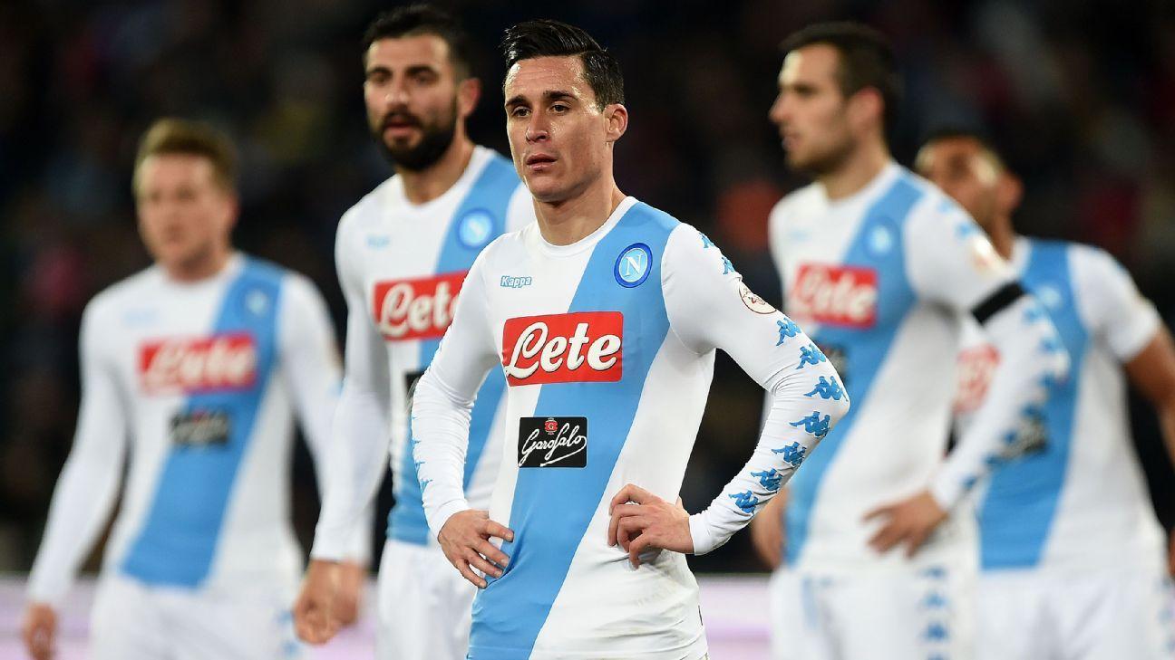 Napoli striker Jose Callejon