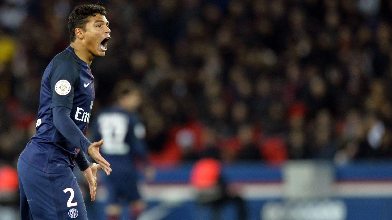 How PSG can over eThiago Silva s absence against Barcelona ESPN FC