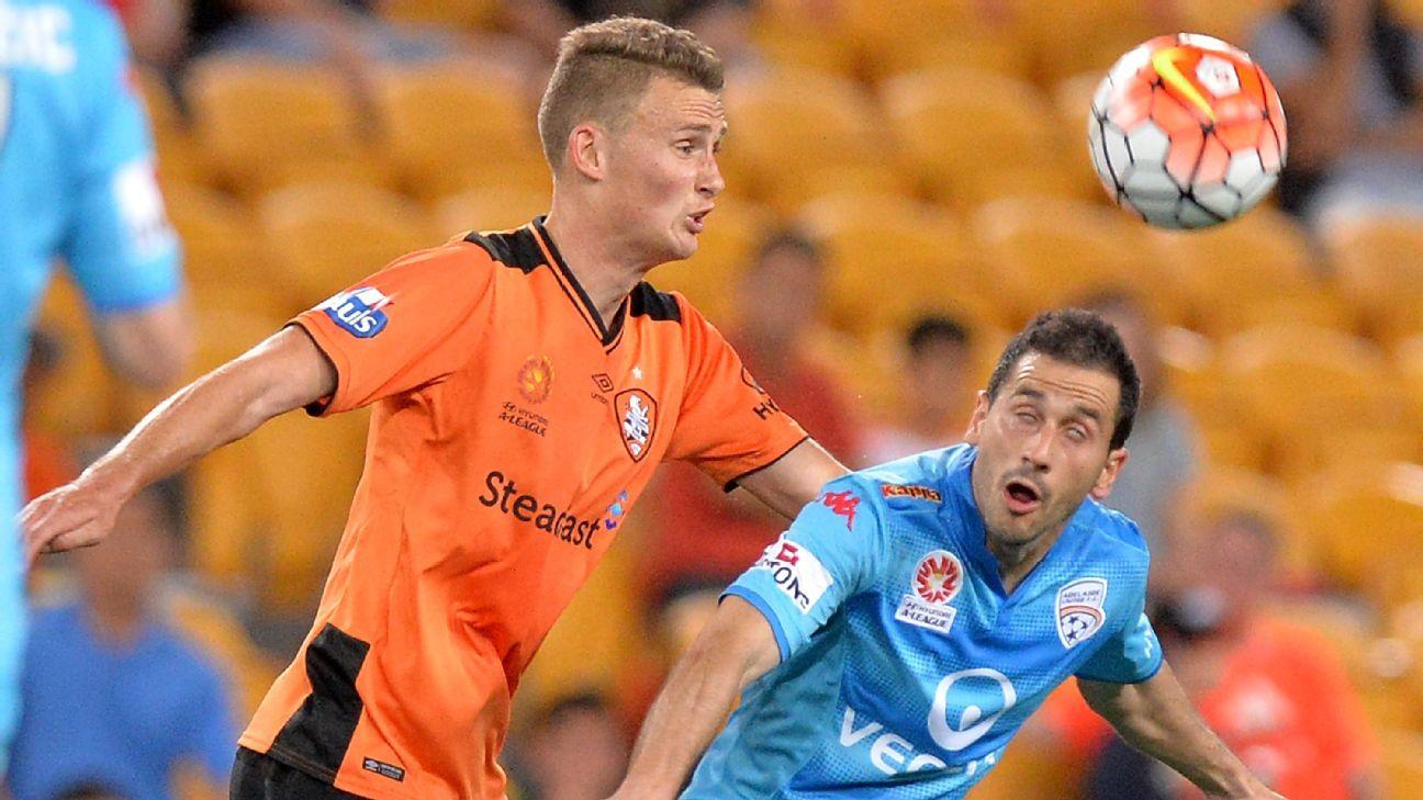 Brisbane Roar's Daniel Bowles