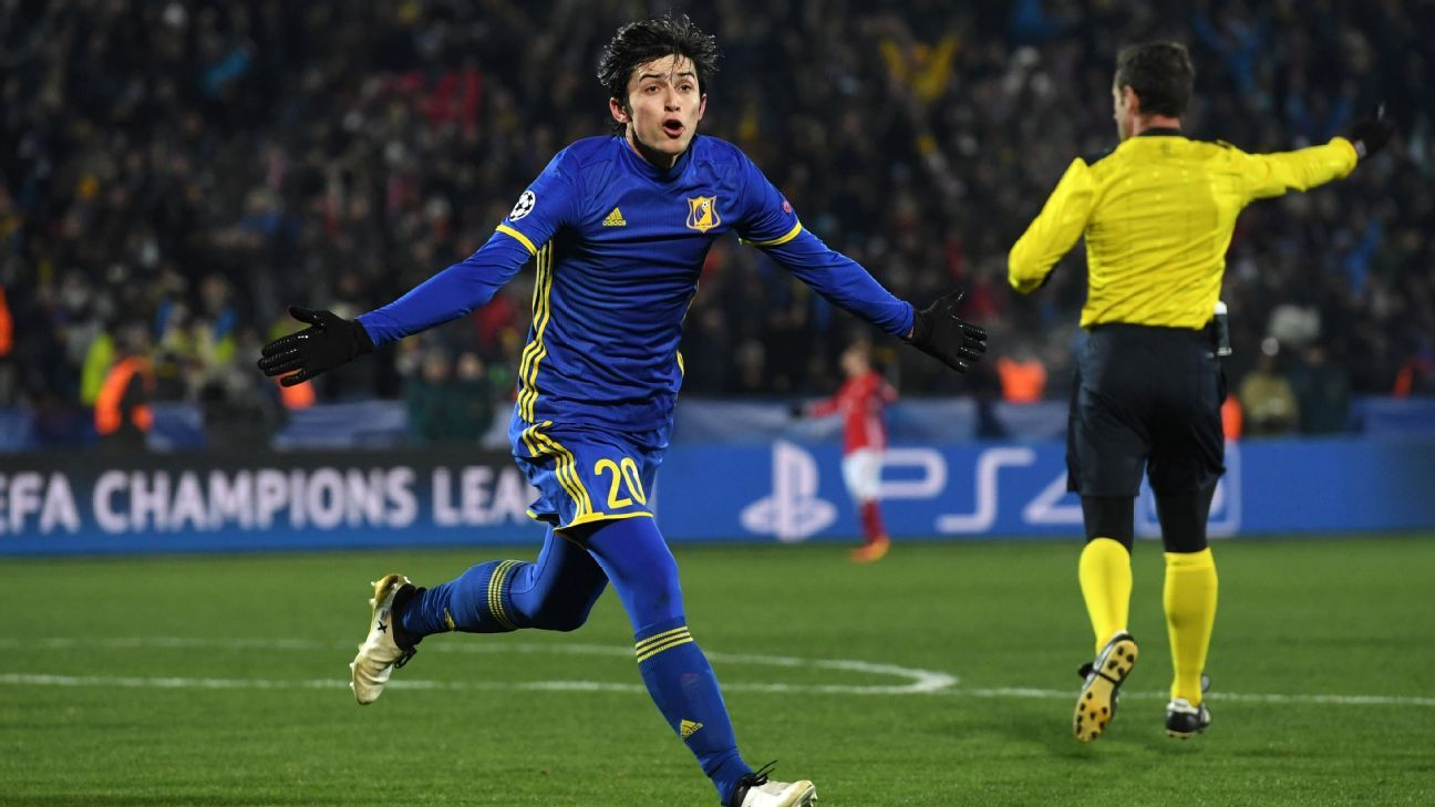 Sardar Azmoun of Iran and Rostov