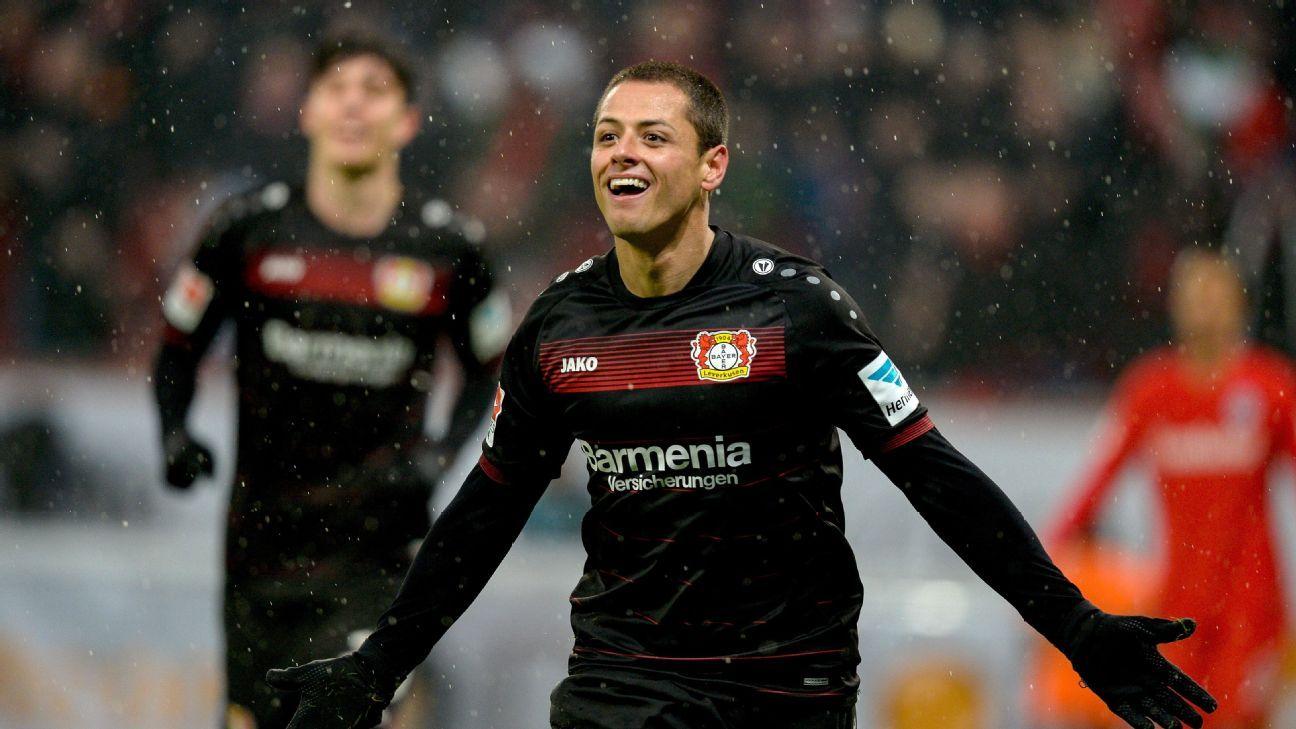 Javier Hernandez completes transfer to West Ham from Bayer Leverkusen