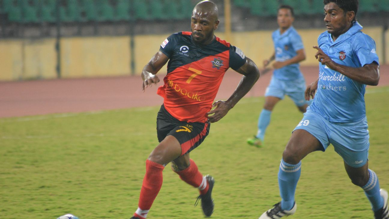 Chennai's Charles De Souza scored the equalizer against Churchill.