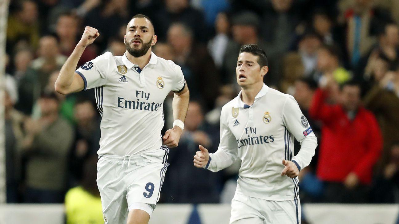 Karim Benzema & James Rodriguez