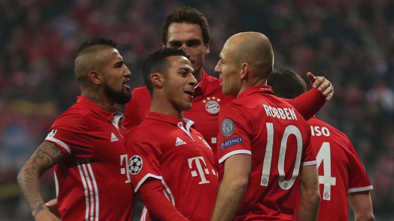 Bayern celebrates