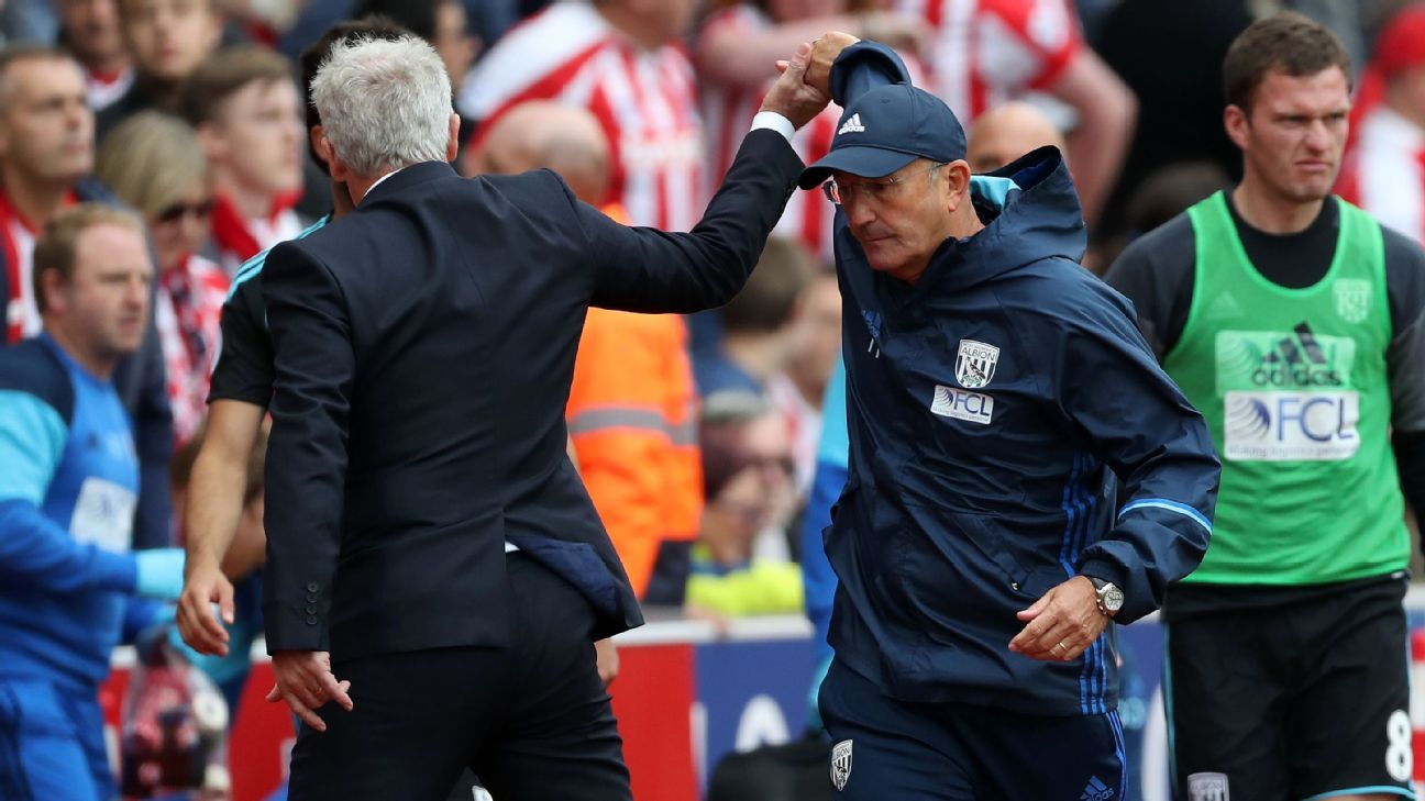 Berahino and Pulis stoke the fires in West Brom and Stoke's gripping rivalry