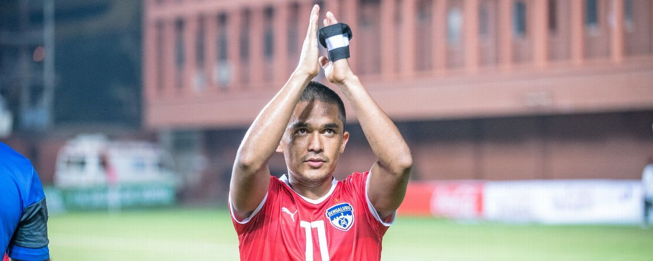 Despite Bengaluru FC underperforming this season, Sunil Chhetri led the way without which BFC would have faltered even further.