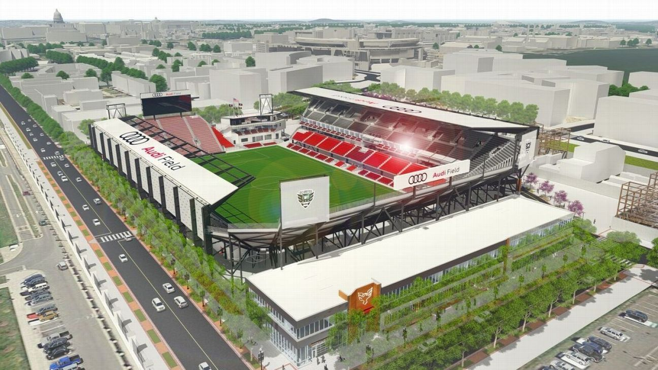 D.C. United gets final approval to build new soccer stadium in Washington