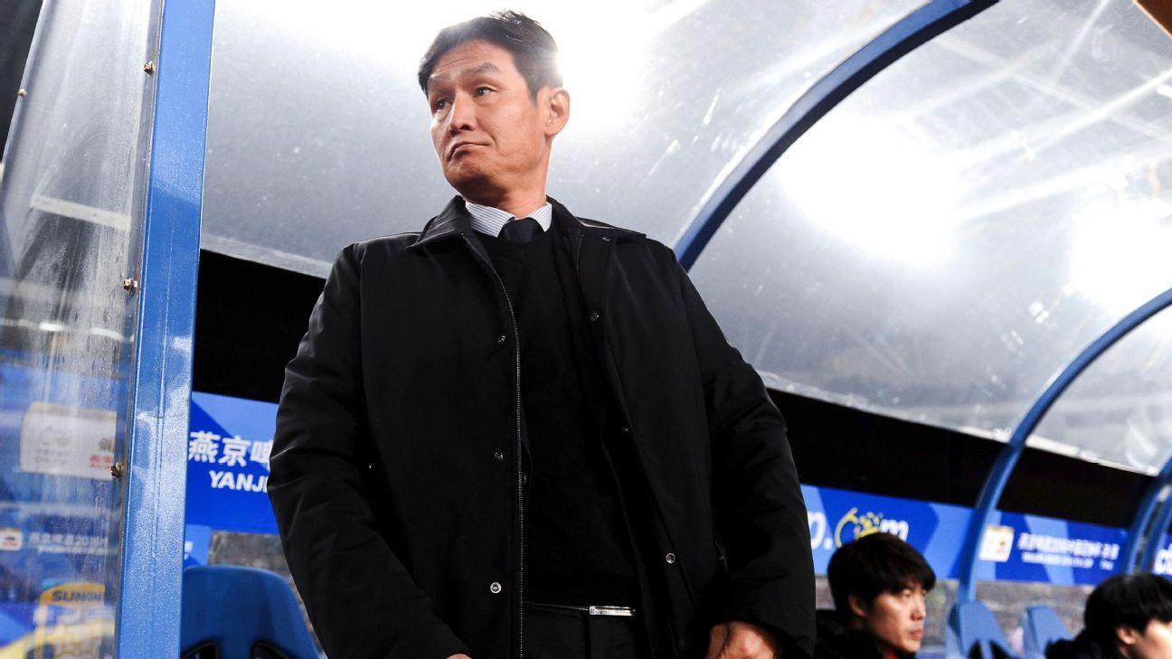 Jiangsu coach Choi Yong-Soo