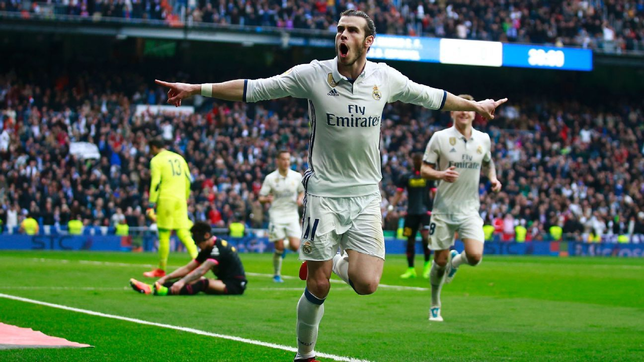 Gareth Bale scored in his first game in three months.