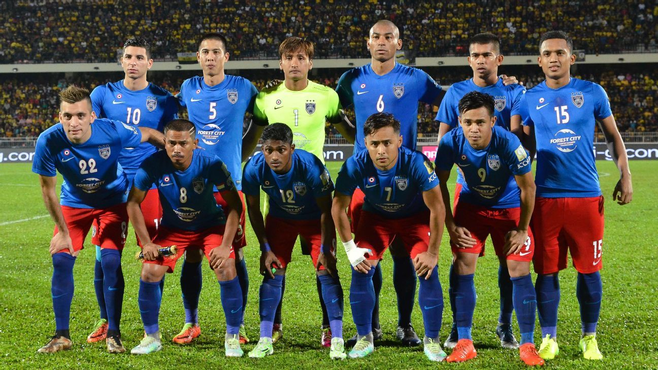 JDT starting team 2017