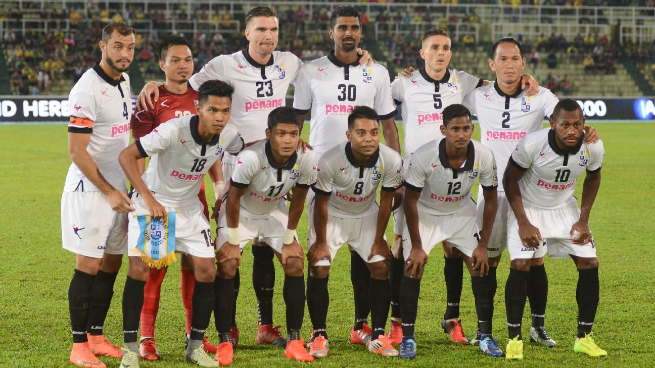 Penang 2017 team vs Pahang
