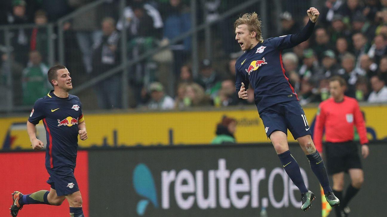 RB Leipzig Forsberg celeb