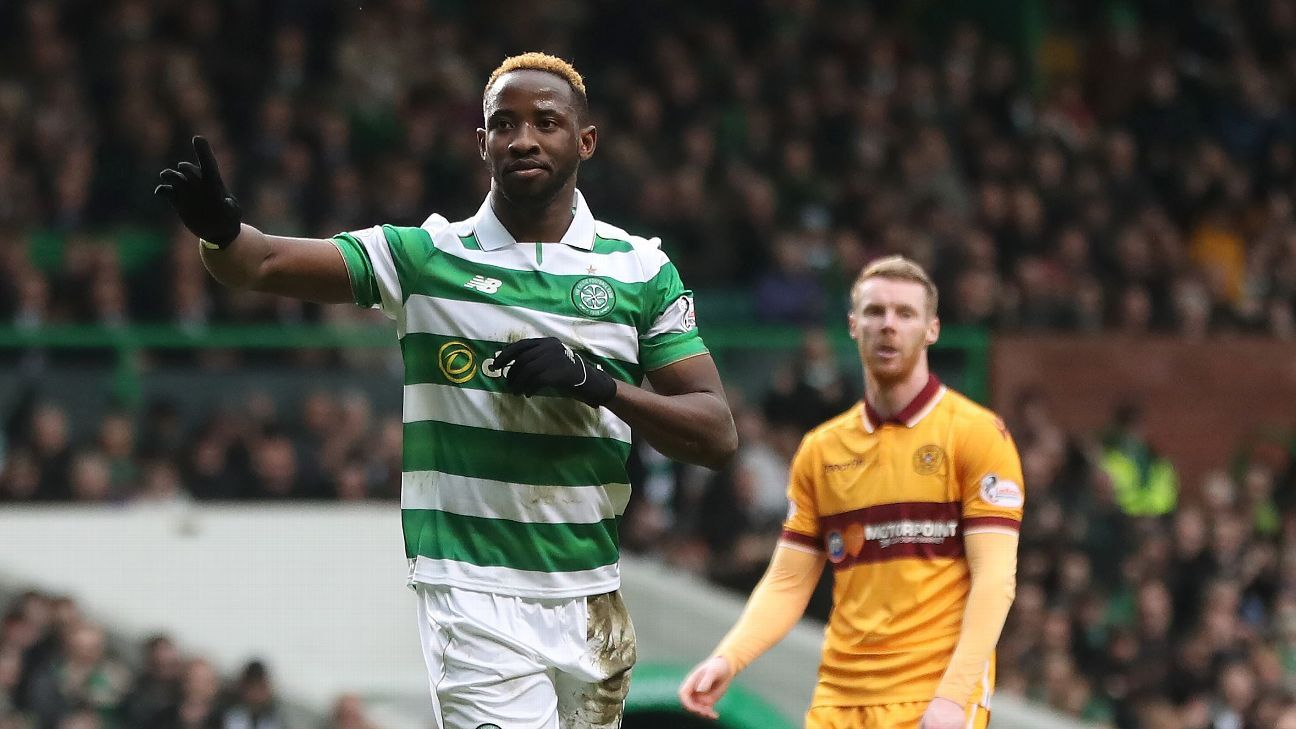 N'Golo Kante: Moussa Dembele's form for Celtic has not gone unnoticed