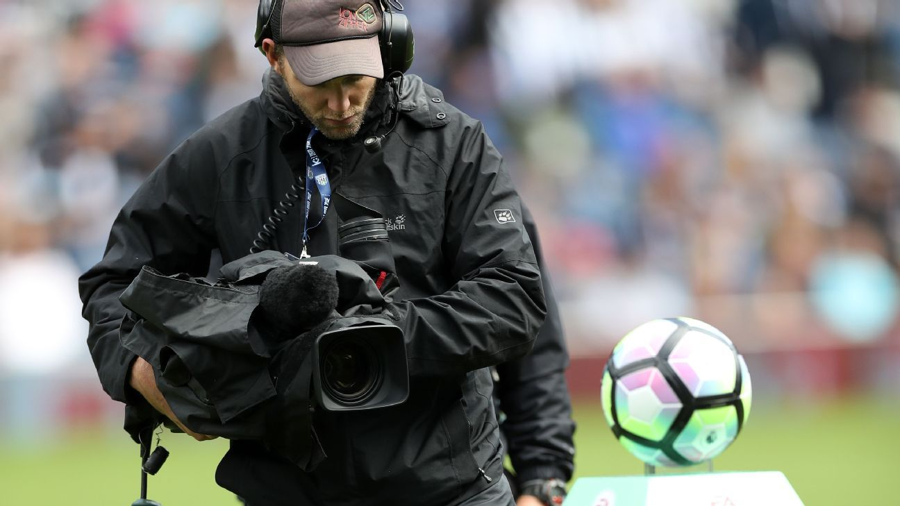Premier League TV Camera