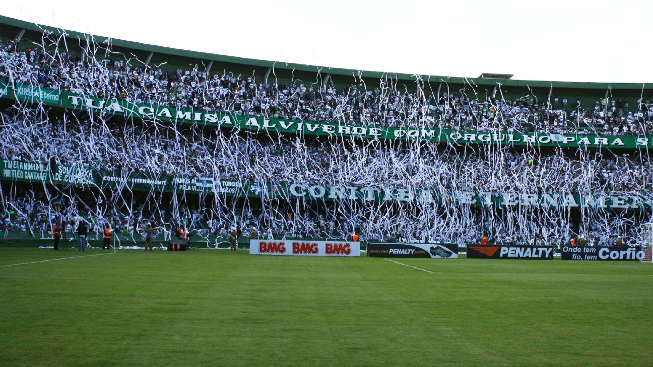 Coritiba fans in Brazil