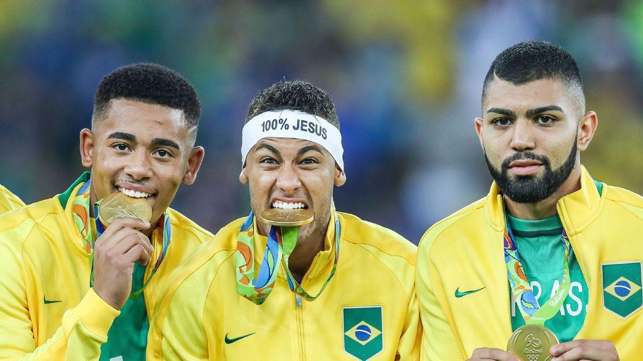 Gabriel Jesus, Neymar & Gabriel Barbosa