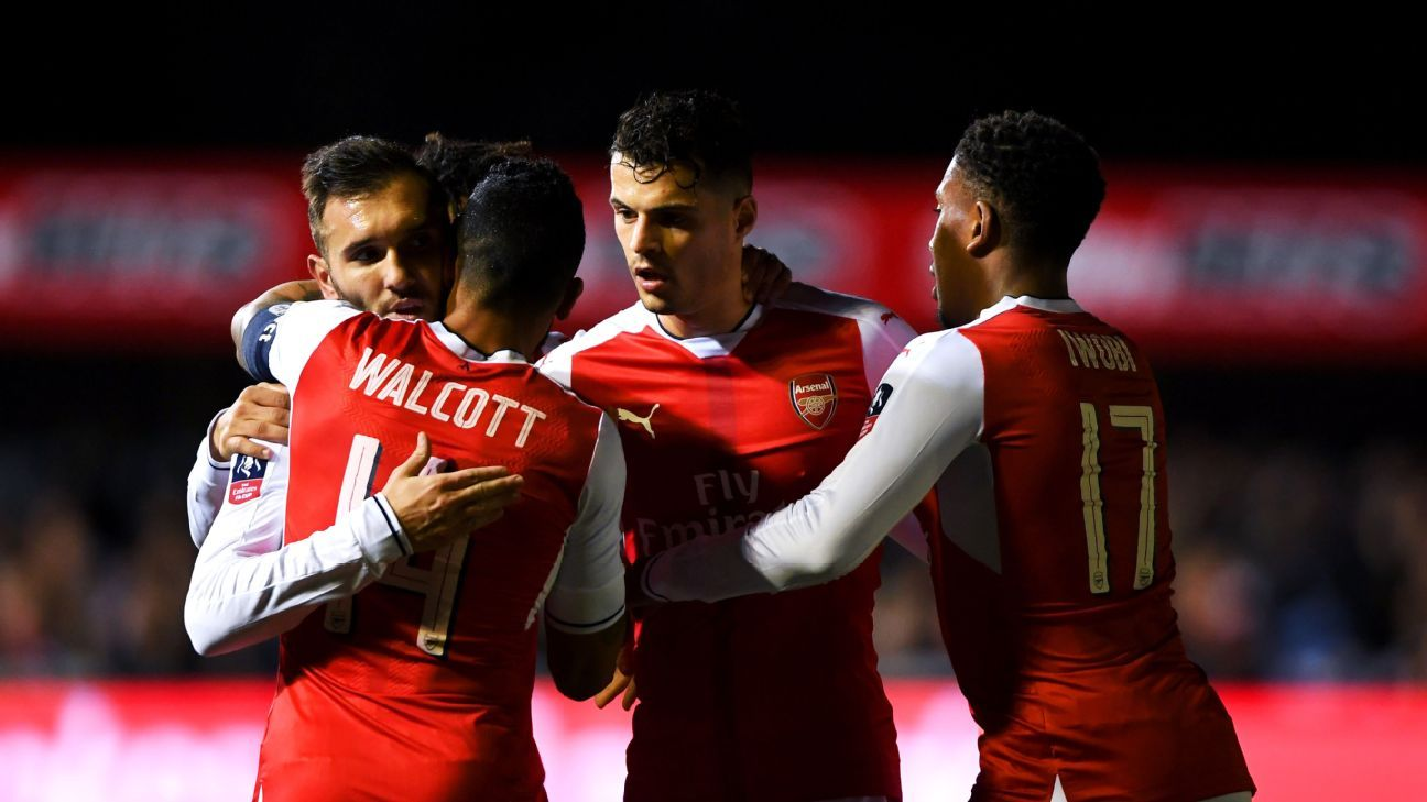 Trending: Arsenal edge past Sutton, Neymar to stand trial over corruption