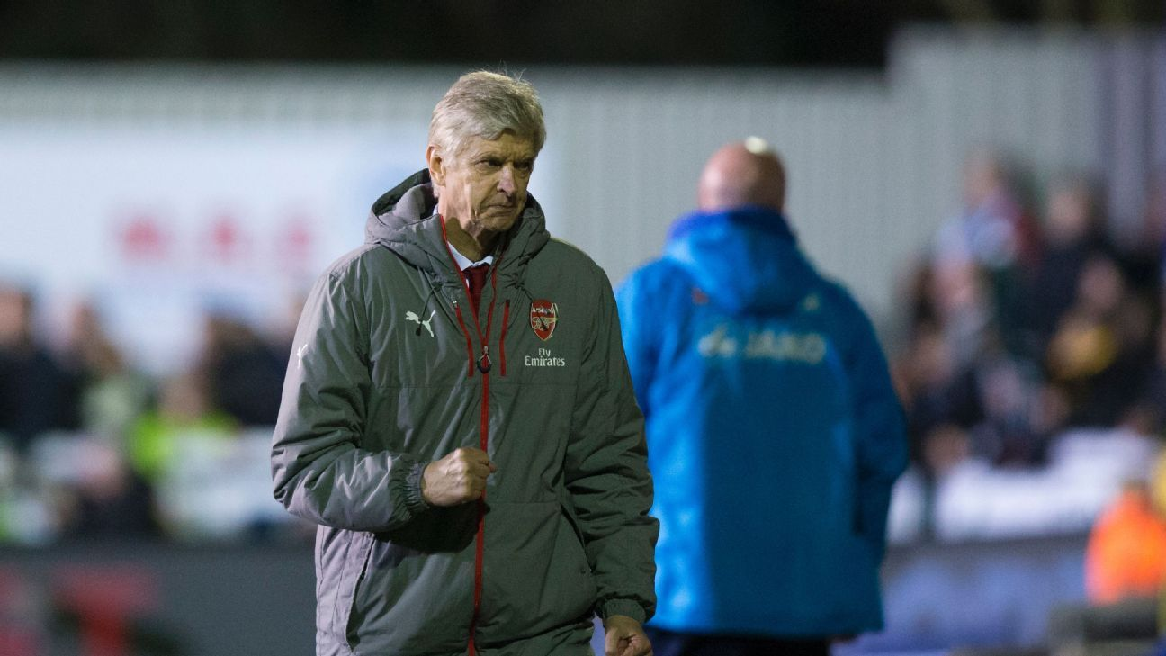 Arsene Wenger says he did not 'really enjoy' Arsenal's FA Cup win at Sutton