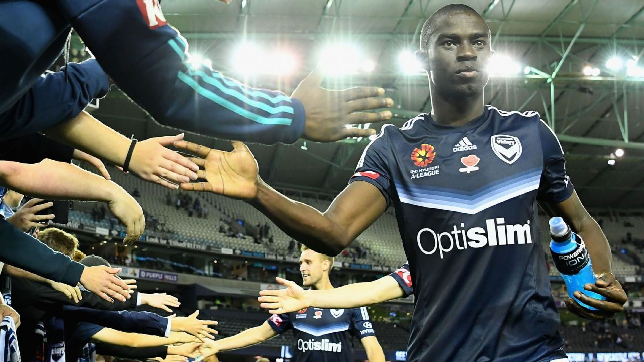 Melbourne Victory's Jason Geria