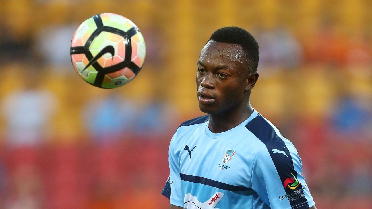 Sydney FC promote teenage prodigy Charles Lokolingoy to first-team squad