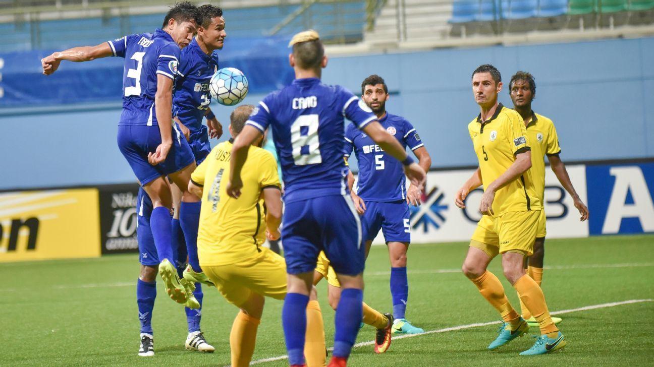 Tampines v Felda in AFC Cup