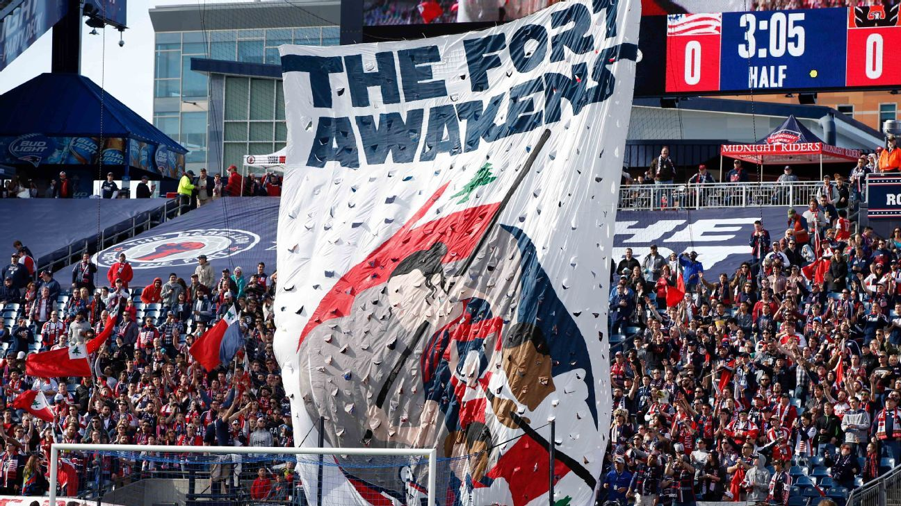 New England Revolution tifo
