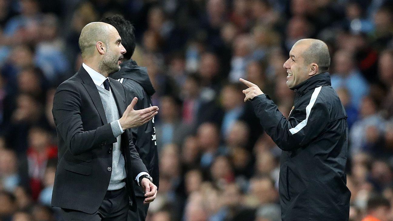 Pep Guardiola and Jardim