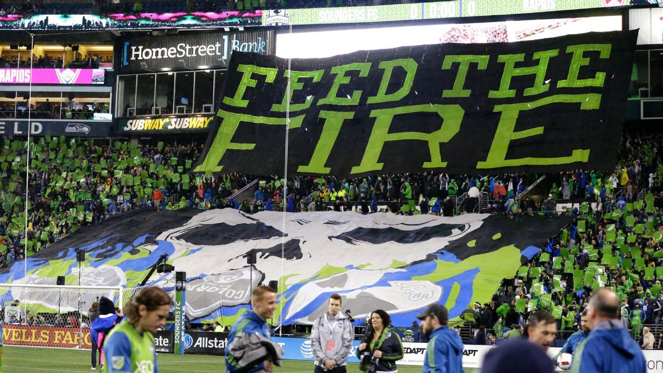 Seattle Sounders Tifo playoffs
