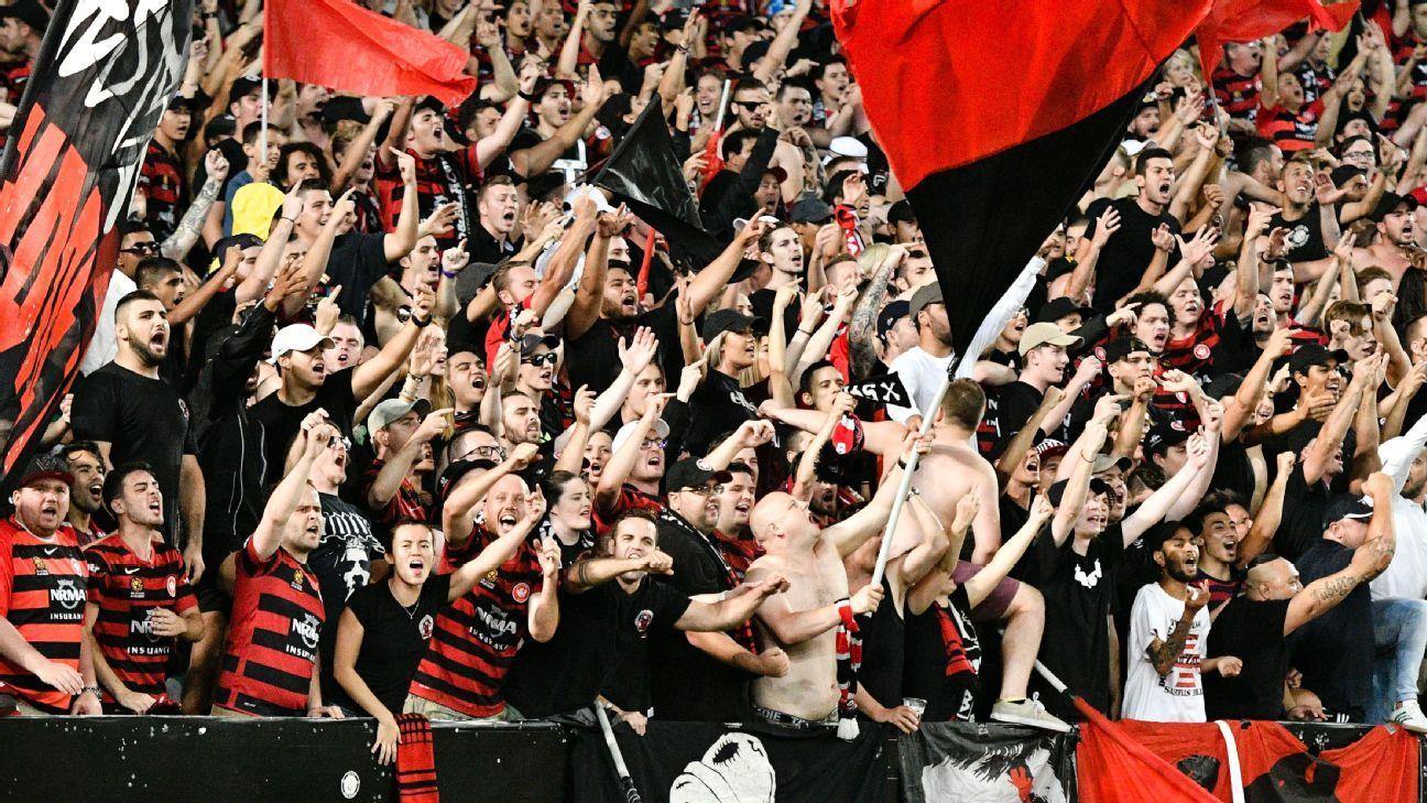 Western Sydney Wanderers supporters
