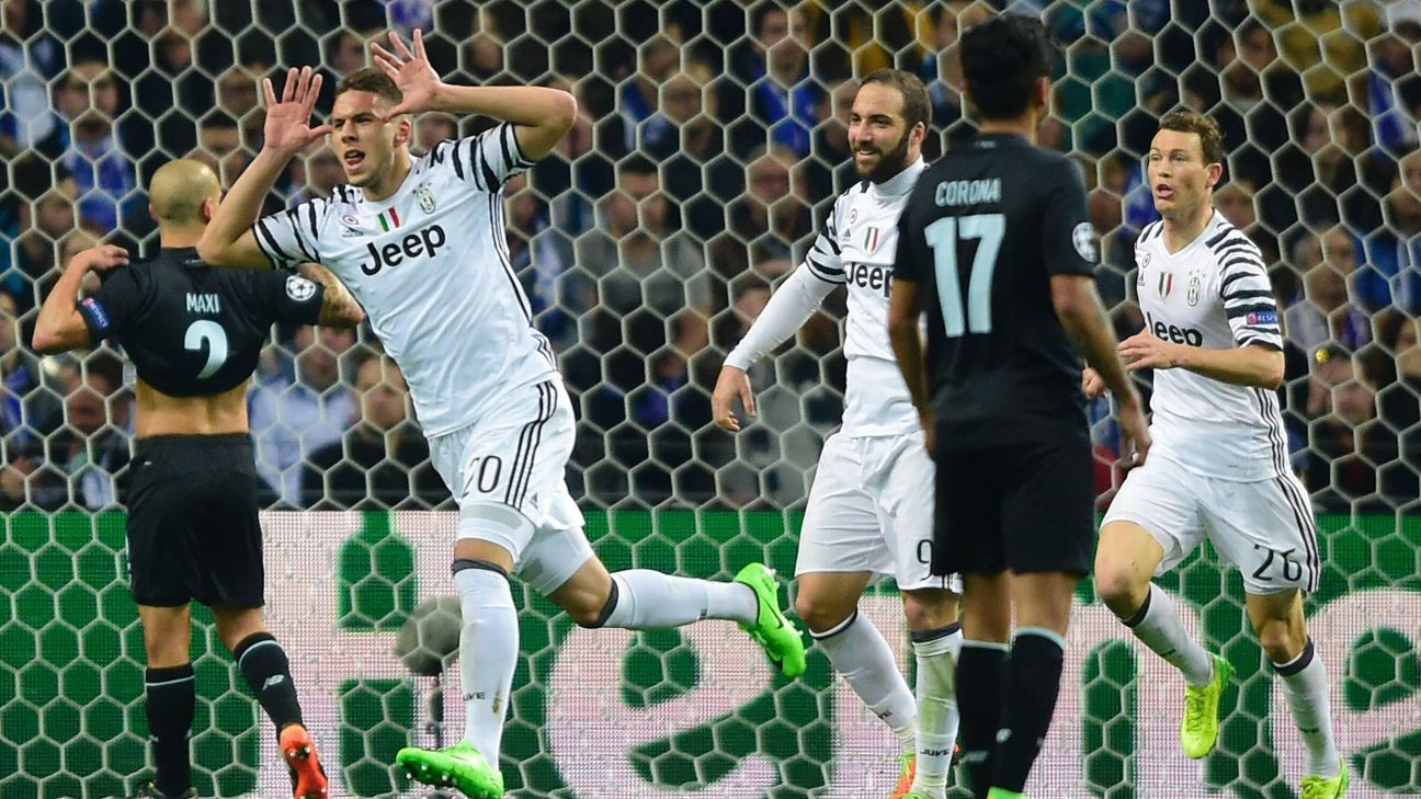 Substitute Marko Pjaca scored Juve's opener in the 72nd minute.