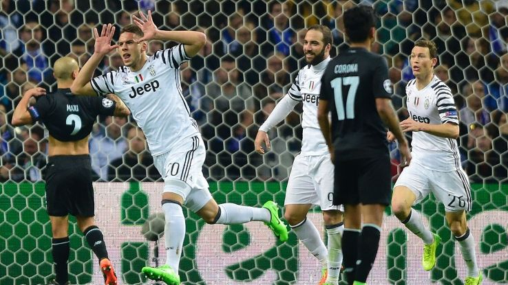 Substitute Marko Pjaca scored Juve's opener in the 72nd minute.