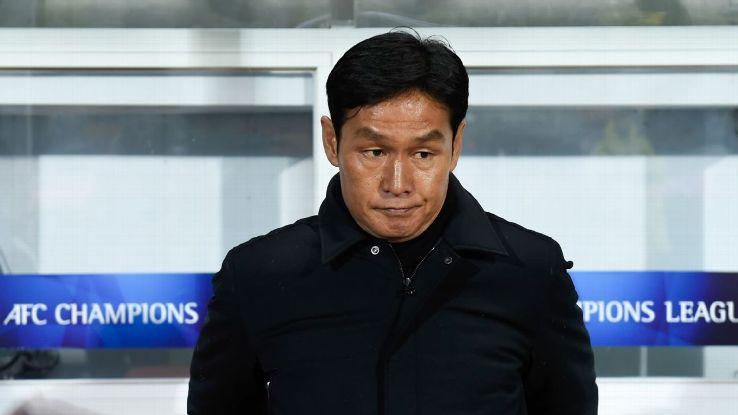 Jiangsu Suning coach Choi Yong-soo