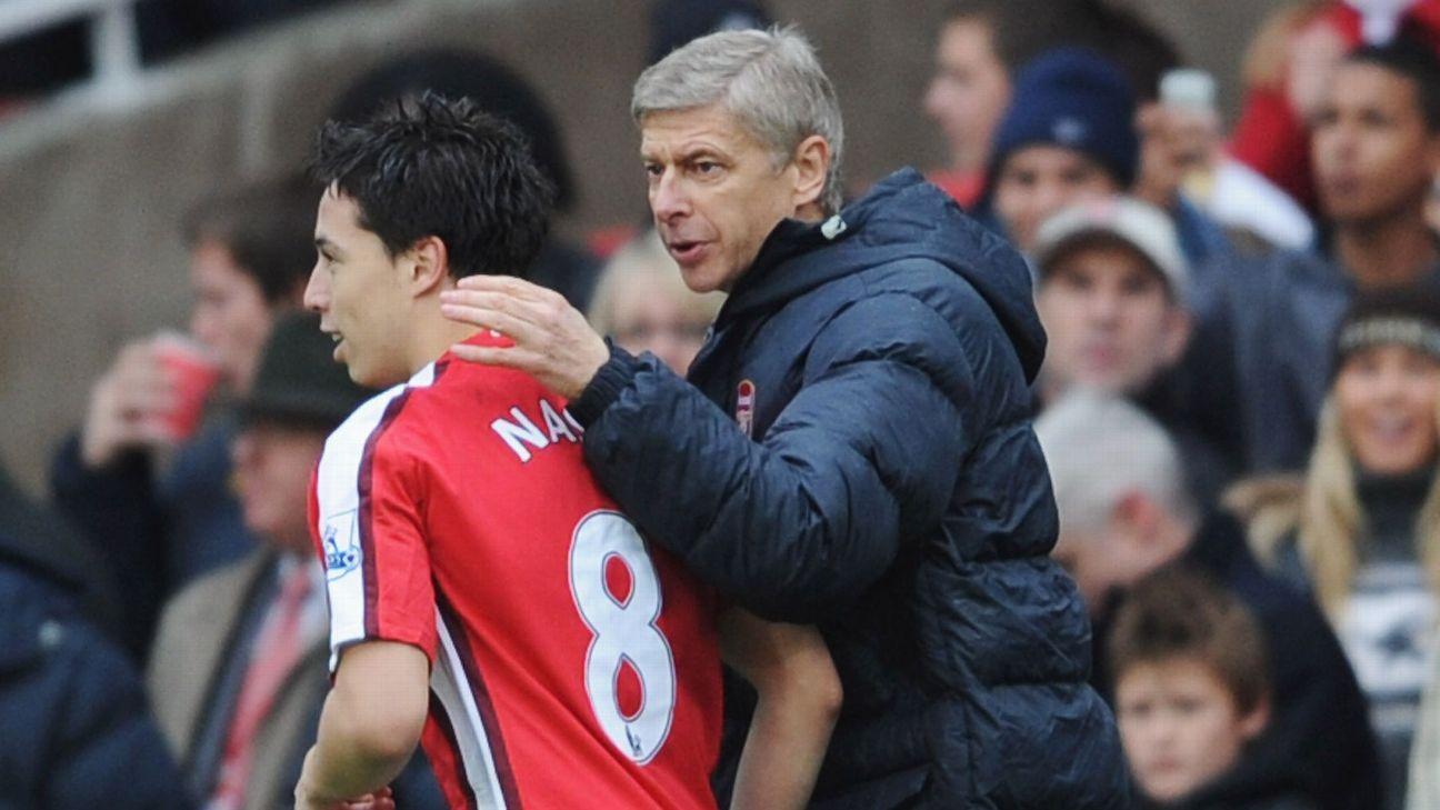 Samir Nasri Arsene Wenger Arsenal