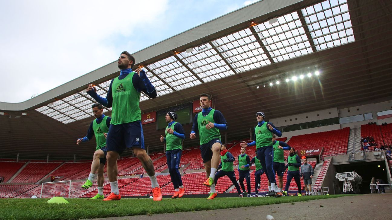 Sunderland training