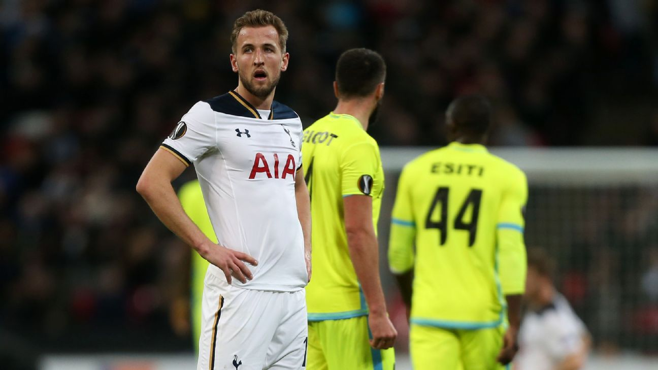 Harry Kane and Tottenham had a miserable night at Wembley on Thursday.
