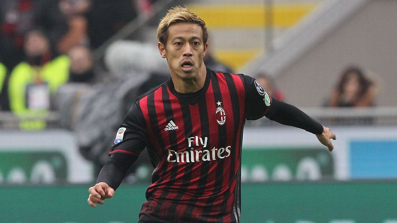 'Better than 50-50 chance' Sounders acquire Keisuke Honda - source