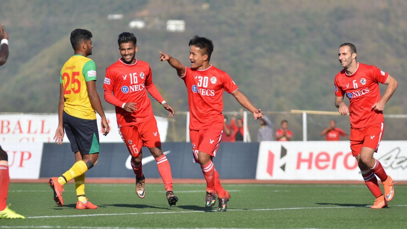 Brandon's third goal of the season helped Aizawl to a 1-0 win over Chennai.
