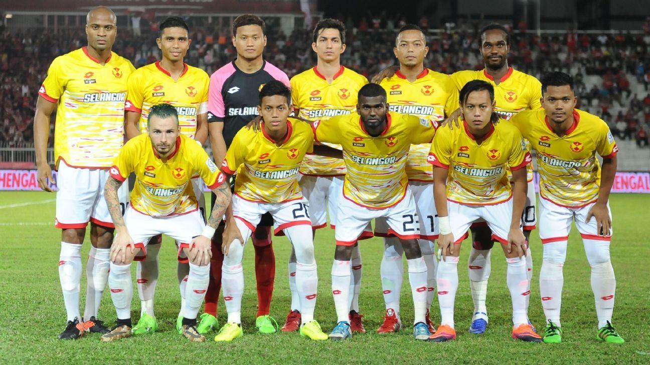 Selangor team 2017 MSL at Kelantan
