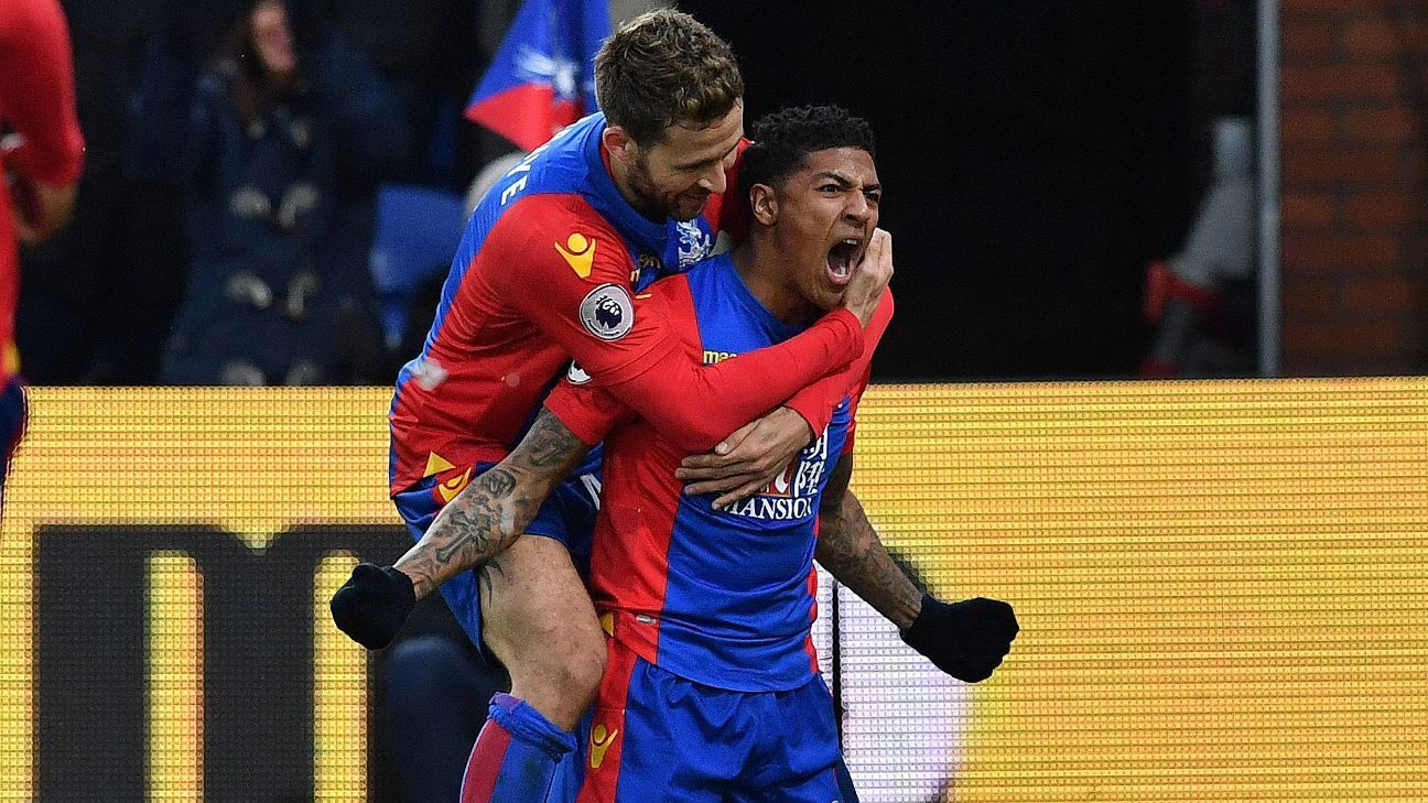 Patrick van Aanholt's goal was enough for Palace to win.